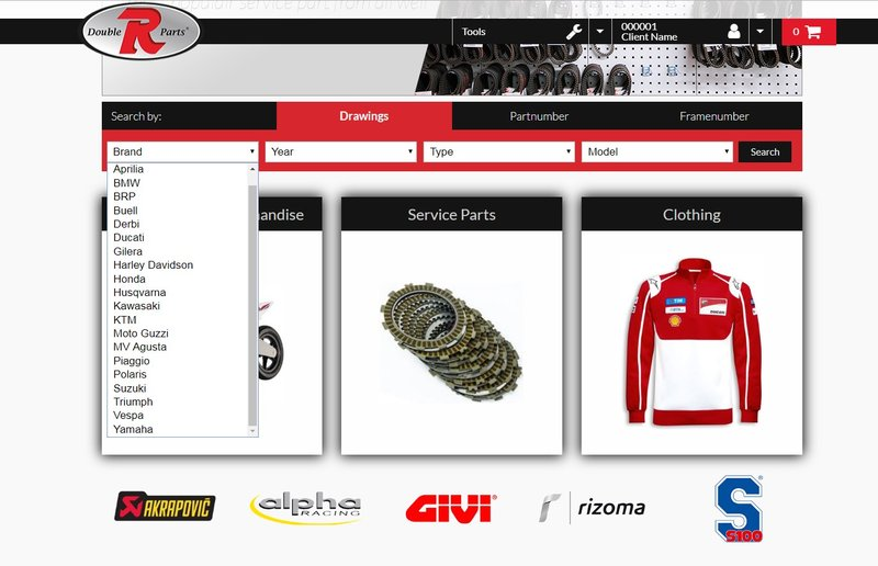 Motorcycle Parts Supplier Double R Parts B2b Only